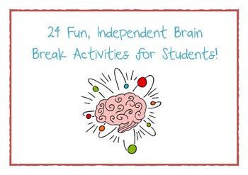 24 Fun Brain Breaks for Kids