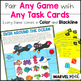 24 Fun No PREP Games to use with ANY Task Cards