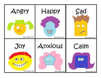 24 Fun and Colorful Feelings Cards