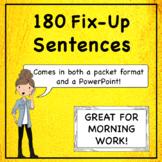 Grammar Practice Sentences