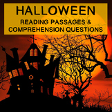 Halloween Reading Comprehension Passages and Questions