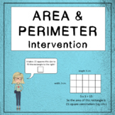 Math Intervention: Area & Perimeter
