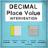 Math Intervention: Decimal Place Value