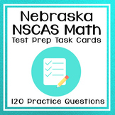 3rd Grade Math Test Prep Task Cards for NSCAS
