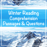 Winter Comprehension Passages and Questions