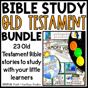 Old Testament Bible Studies GROWING BUNDLE