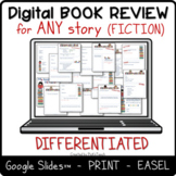 Distance learning EDITABLE differentiated DIGITAL reading