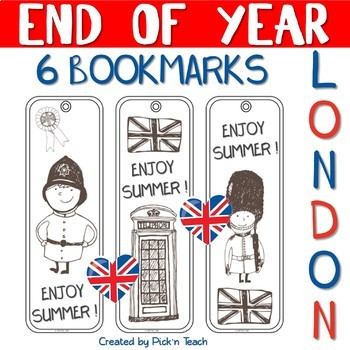 """End of the year BOOKMARKS - """"London"""""""