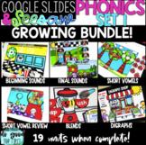 DIGITAL Phonics Set #1 GROWING Bundle - Short Vowels - Ble