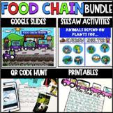 Food Chain Bundle - Digital & Printable - Seesaw - Google Slides