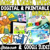 Long a Vowel Teams: AI & AY - DIGITAL & PRINTABLE BUNDLE!