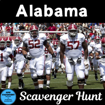 Alabama Scavenger Hunt