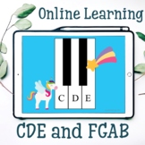 Unicorn CDE and FGAB  Flashcards for Online teaching