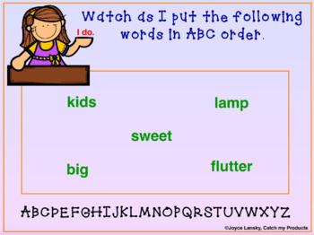 ABC Order for PROMETHEAN Board
