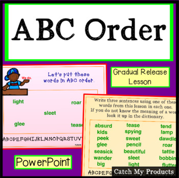 ABC Order Power Point