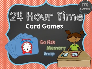 24 Hour Time Card Games