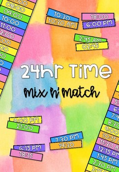 24 Hour Time Mix 'n' Match #springsavings