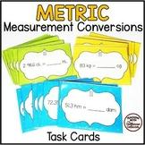 24 Metric Measurement Conversions Task Cards: Length, Mass, Capacity