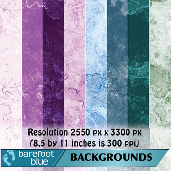 24 Mineral Swirls Backgrounds/Digital Papers/Printables