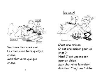 27) Mon chat - livret de lecture ENFANT C1 1ère-2e