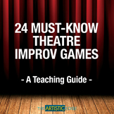 24 Must Know Theatre Improv Games