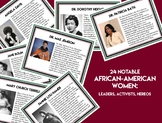 24 Notable African-American Women (Women's History Month)