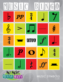 24 Notation Sign Music Bingo - Caller Card # 1