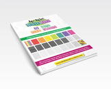 24 Note Tile Sheets - Young Mozart Music Station - Book 2