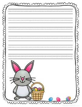 24 Page Set of Easter Themed Writing Paper