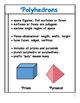 24 Polyhedron Mini-Posters