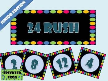 24 RUSH Mental Maths - Junior Edition
