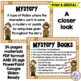 Reading Genre Posters with Book Examples