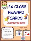 24 Reward Cards  No More Trinkets!