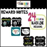 Mini Awards Color and Black Line Design