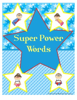 24 Super Power Words Commonly Used on Assessments