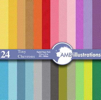 Digital papers - Tiny Chevron digital paper and backgrounds, AMB-311