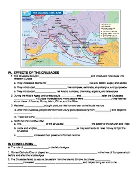 UNIT 4 LESSON 4. The Crusades GUIDED NOTES