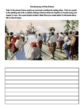 Pearson 7 History (Canada) - Chapter 2.3 - The Economy of New France