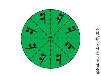 2/4 Time - Music Pies - Time Signature Manipulative