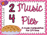 2/4 Time - Music Pies - Time Signature Manipulative