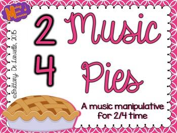 2/4 Time - Music Pies - Music Manipulative