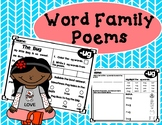 24 Word Family Poems