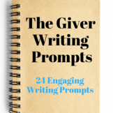 24 Writing Prompts: The Giver