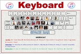 24 by 36 Current Singer Keyboard Poster!