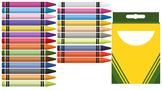 24 ct. Crayons Clip Art
