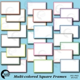 Frames and Labels Square Clipart, {Best Teacher Tools}  AMB-477