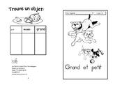 24) grand et petit - livret de lecture ENFANT C1 1ère-2e