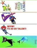 24 marque-pages pour féliciter & encourager vos étudiants (FRENCH)