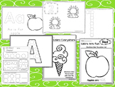 240 Beginning Preschool Printable Worksheets.