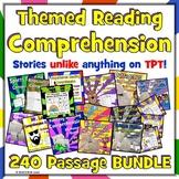 240 Fun Reading Comprehension Passages - BUNDLE